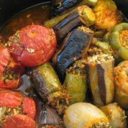 Dolma, the Armenian meal in a vegetable
